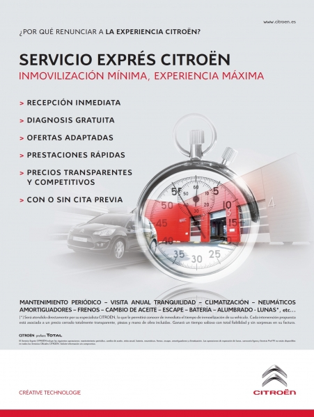 SERVICIO EXPRÉS CITROEN
