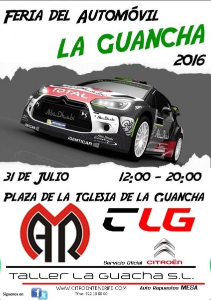 Feria de Vehículos en La Guancha