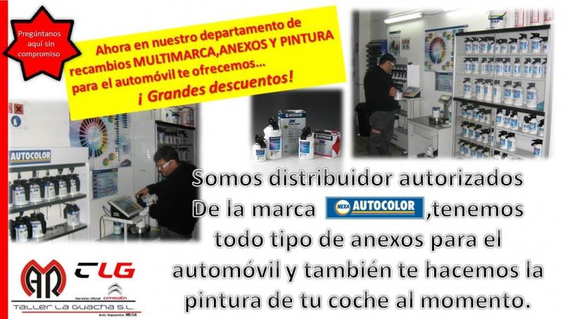 SOMOS DISTRIBUIDORES AUTORIZADOS DE LA MARCA NEXA AUTOCOLOR