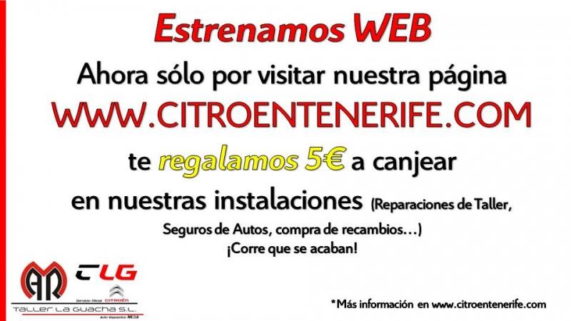 ESTRENAMOS WEB WWW.CITROENTENERIFE.COM