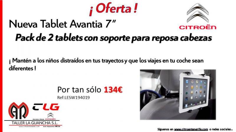 No esperes más y aprovecha esta promoción en tablets + cabezales para tu coche.