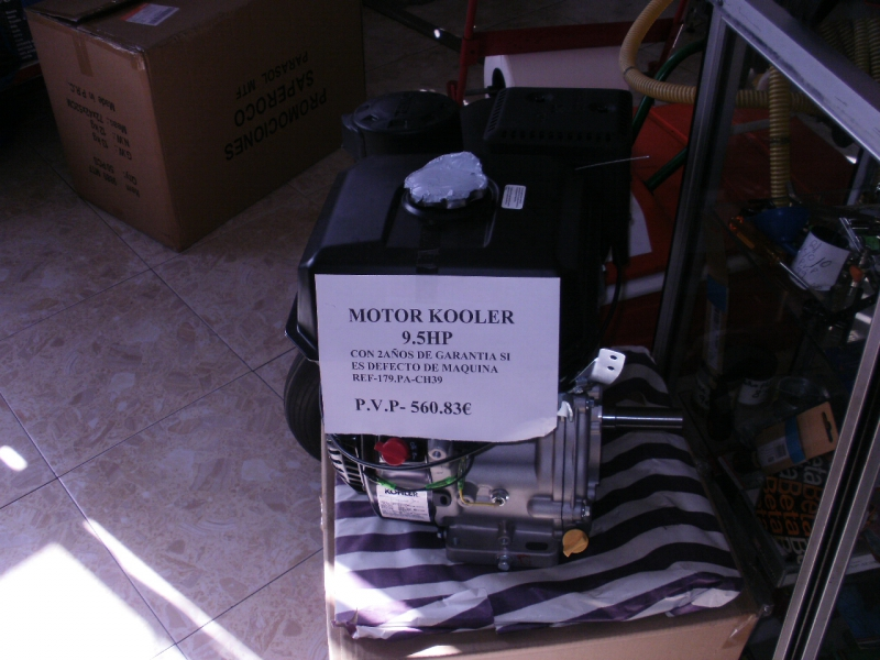 MOTOR KOHLER 9.5HP 560€