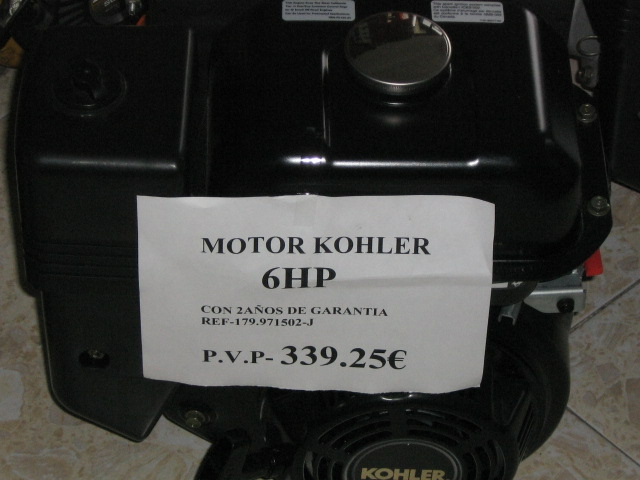 PRECIOS DE ESCÁNDALO EN TU MOTOR KHOLER NUEVO...