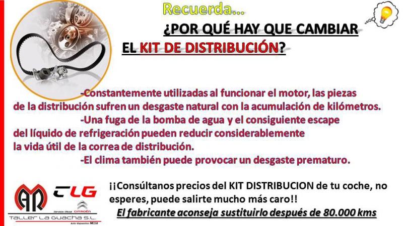 Cámbiale la distribución a tu coche desde 280€ , con piezas y m.o inlcuída...