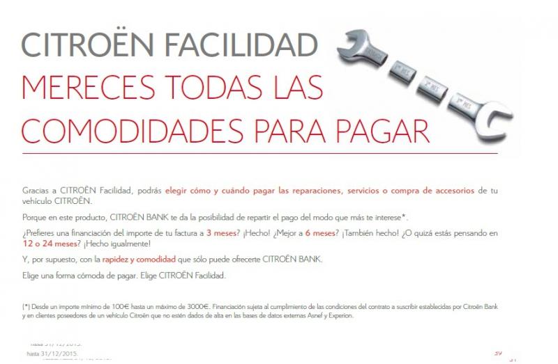 Os presentamos la GUIA DE PRECIOS CERRADOS DE CITROEN!!!!!!